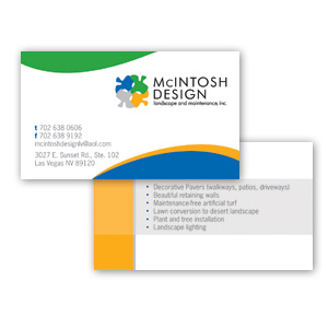 Las Vegas Business Card Design