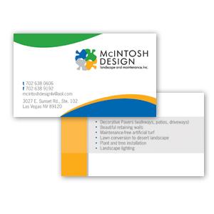 Las Vegas Business Card Design